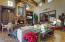 Palatial wood beamed ceilings