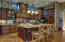Detailed kitchen with plenty of ambient lighting