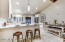 The ideal kitchen for entertaining family and guests.
