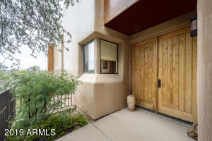 Welcoming entry to your new home