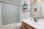 Master Bathroom with tub/shower combo!