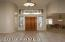 Foyer with Custom Stained Glass Windows!