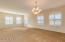 Formal Living Room / Dining Room Gorgeous Plantation Shutters