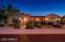 Elegant stone exterior beautiful nighttime impression