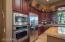 Warm cabinets and plenty of storage