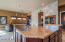 Expansive kitchen island