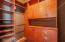 California walk in his and her custom closets