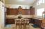 Island, Breakfast Bar, Pantry - have it all with plenty of counter space.