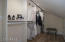 Wardrobe: Hanging Clothes Space (labeled master closet on floor plan)