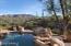 Pool overlooking canyon.