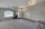 Formal living - dining room opposite double door den