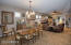 Formal dining and living room allows for plenty of room to entertain