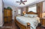 Beautiful master suite with exit to back yard