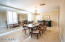 Large and spacious formal dining area off kitchen and sitting rooms