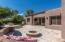 Entertainer's delight in this GORGEOUS back yard with pool and firepit!