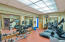 Fitness Center with Women and Mens Locker Rooms and Sauna,