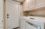Separate Laundry Room w/upgraded washer & dryer