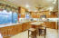 Large chefs custom kitchen