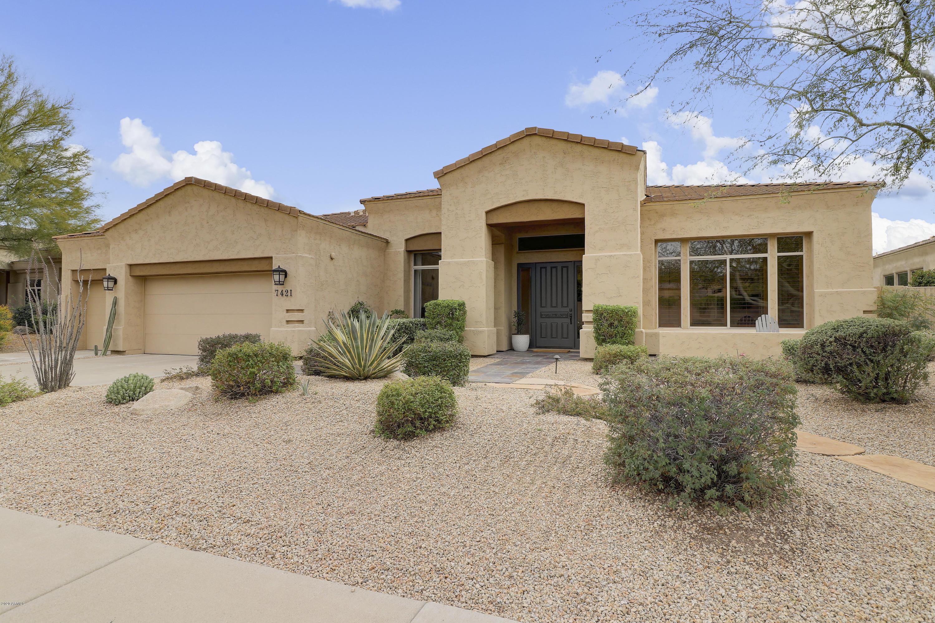 Photo of 7421 E WING SHADOW Road, Scottsdale, AZ 85255