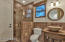 Bathroom inside game room