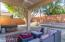 Outdoor under cover patio