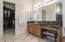 Master Bath Separate Dual Vanities and HUGE Walk-In Closet