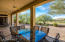 Large Covered Patio with Golf Course and Daisy Mountain Views