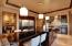 Gorgeous kitchen with HUGE island for entertaining.