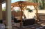 PROFESSIONAL LANDSCAPING IN BACKYARD WITH PERGOLA (RAMADA) AND REMOTE CONTROLLED LIGHTING.