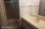 Master bath separate ready sink area.