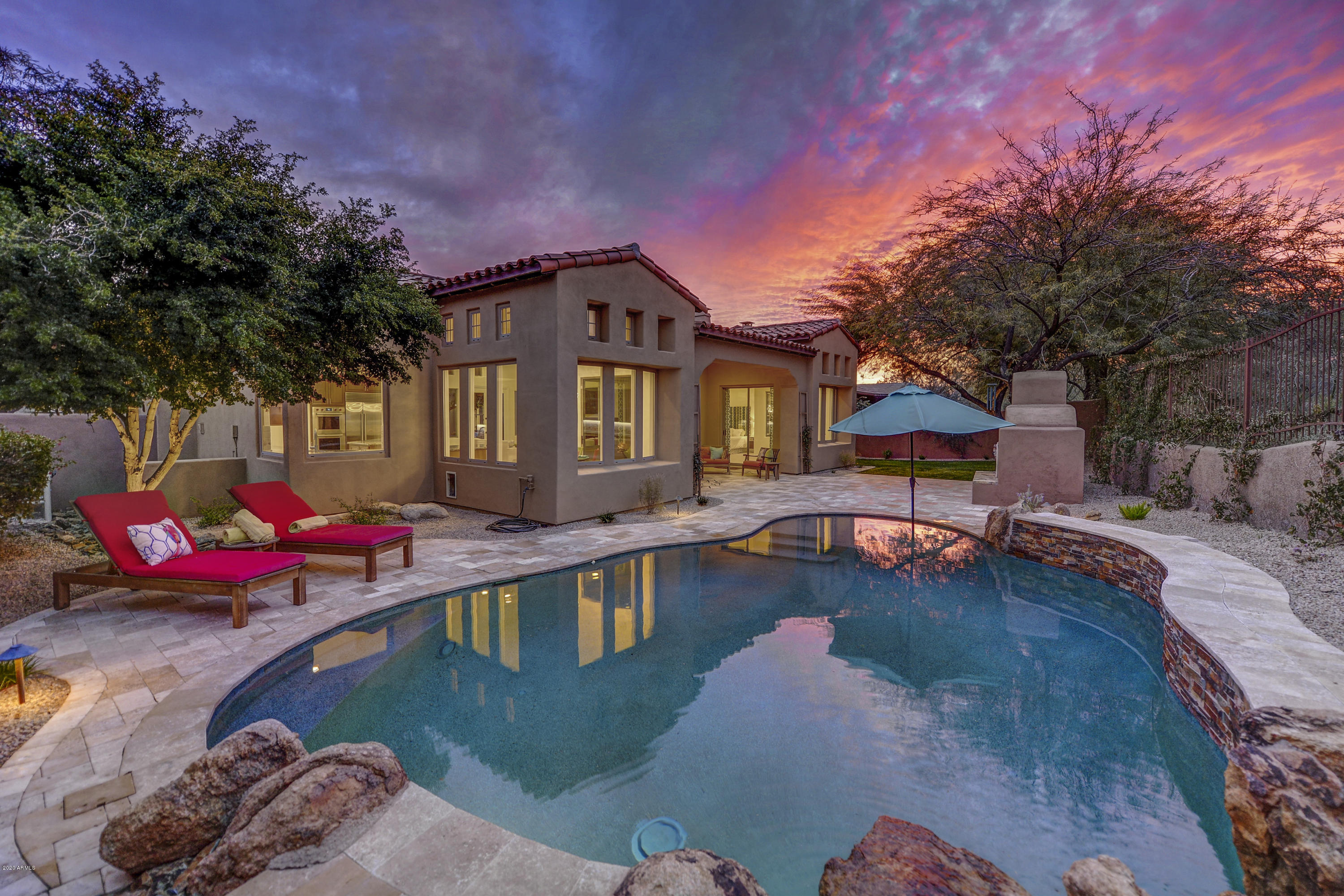 Photo of 9630 E MOUNTAIN SPRING Road, Scottsdale, AZ 85255