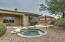 Heated Spool (pool/spa) and Elevated Deck with Views.