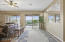 Great Room View to Patio with Golf Course Views