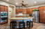Perfect chef's kitchen with loads of kitchen storage!