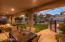 Outdoor living at its finest in Sienna Canyon. Only one of a small few of single level homes!