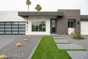 Front Elevation, Modern Sleek Design