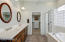 Master Bath with Dual Sinks, Soaking Tub, Separate Walk-In Shower and Walk-In Closet