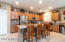 KITCHEN WITH GRAND ISLAND WALK IN PANTRY