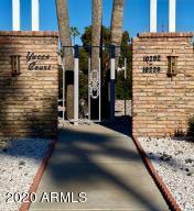 10222 W Campana Dr property courtyard entry.