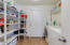 Large laundry room and pantry space