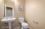 half bathroom-downstairs