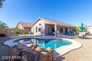 Welcome home! Beautiful Rancho El Dorado single level home with a newer pool and waterfall which is less than 3 years old!