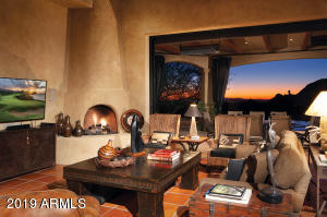 Great Room Sunset