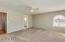 Huge guest suite with walk-in closet and en-suite bath