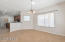 You'll love the Large open floor plan and the flow from great room to dining and kitchen.