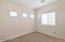 Large bedroom with jack & jill style bathroom and walk-in closet.