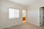 Large 2nd bedroom with jack & jill style bathroom and walk-in closet.