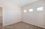 Large 3rd bedroom with jack & jill style bathroom and walk-in closet.