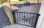 Fenced patio & gate
