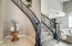 gorgeous spiral staircase to the loft